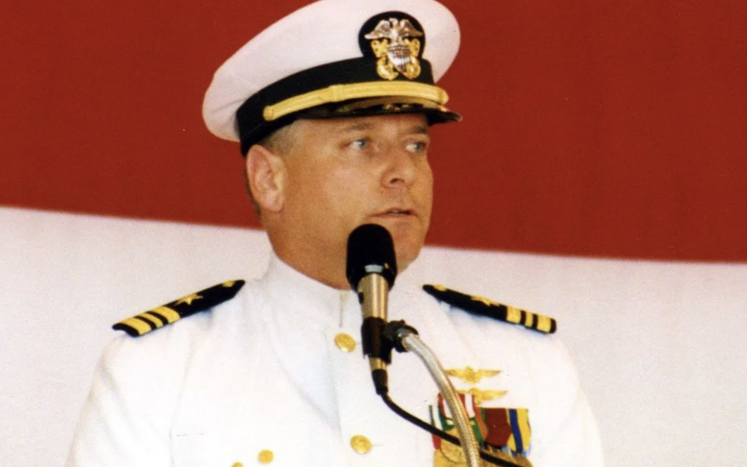 LCDR Mark Parcell Takes Over As XO