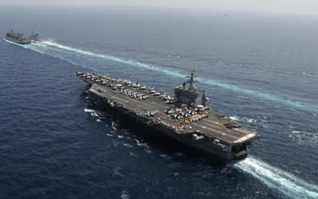 Six Aircraft Carriers Underway Marks Milestone for Navy: Top Officer