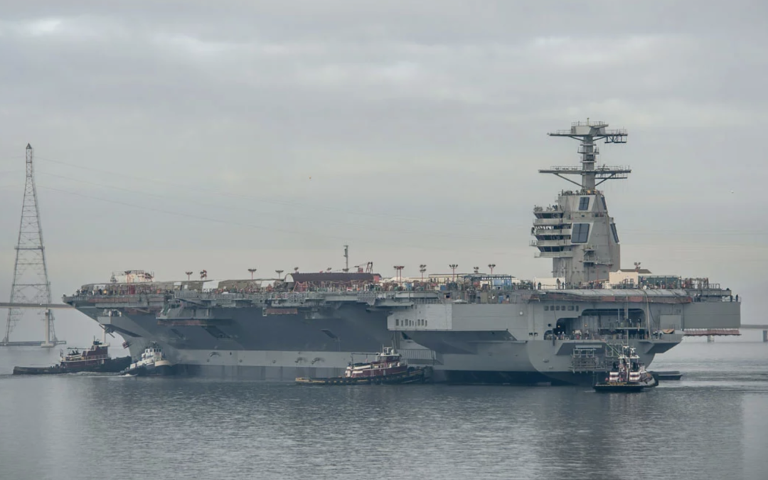 Navy Launches New Affordability Plan for Ford-Class Carriers