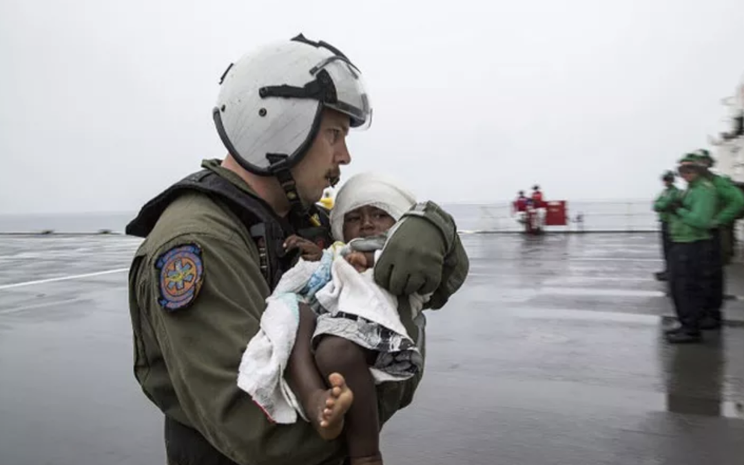 Navy Offers New Details to Helicopter Rescue of Toddler Lost at Sea