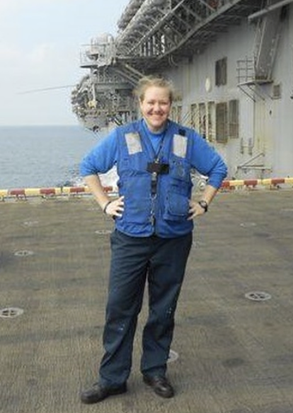"ABH3(AW) NICOLE LISKEY; CHOSEN TO BE FDVG'S VERY FIRST ""ACTIVE DUTY SAILOR OF THE MONTH"" FOR THE MONTH OF NOVEMBER 2014"