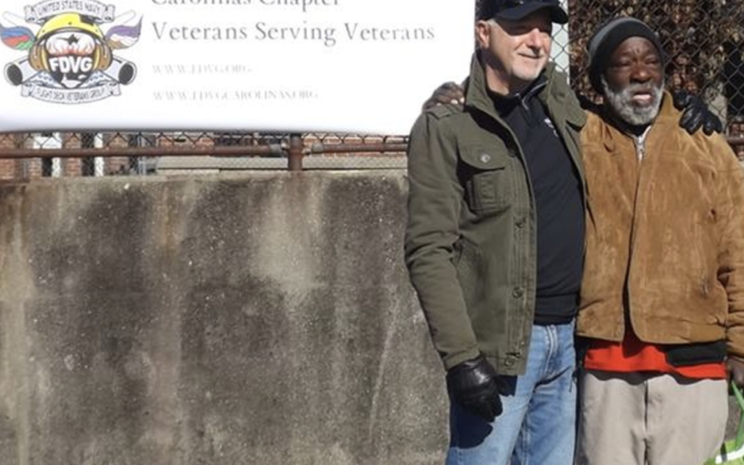 Carolinas Chapter small gesture does big things for area veterans!